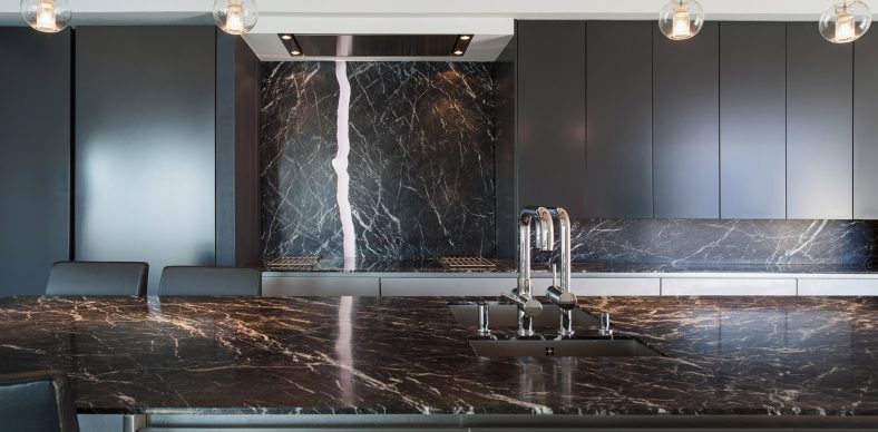 Le choix de la marbrerie intérieure