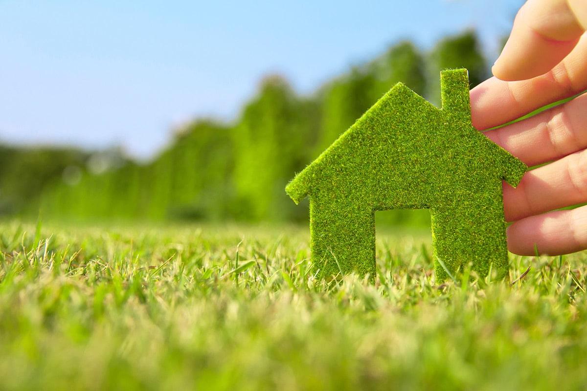 Obtenez des bénéfices avec une maison écologique