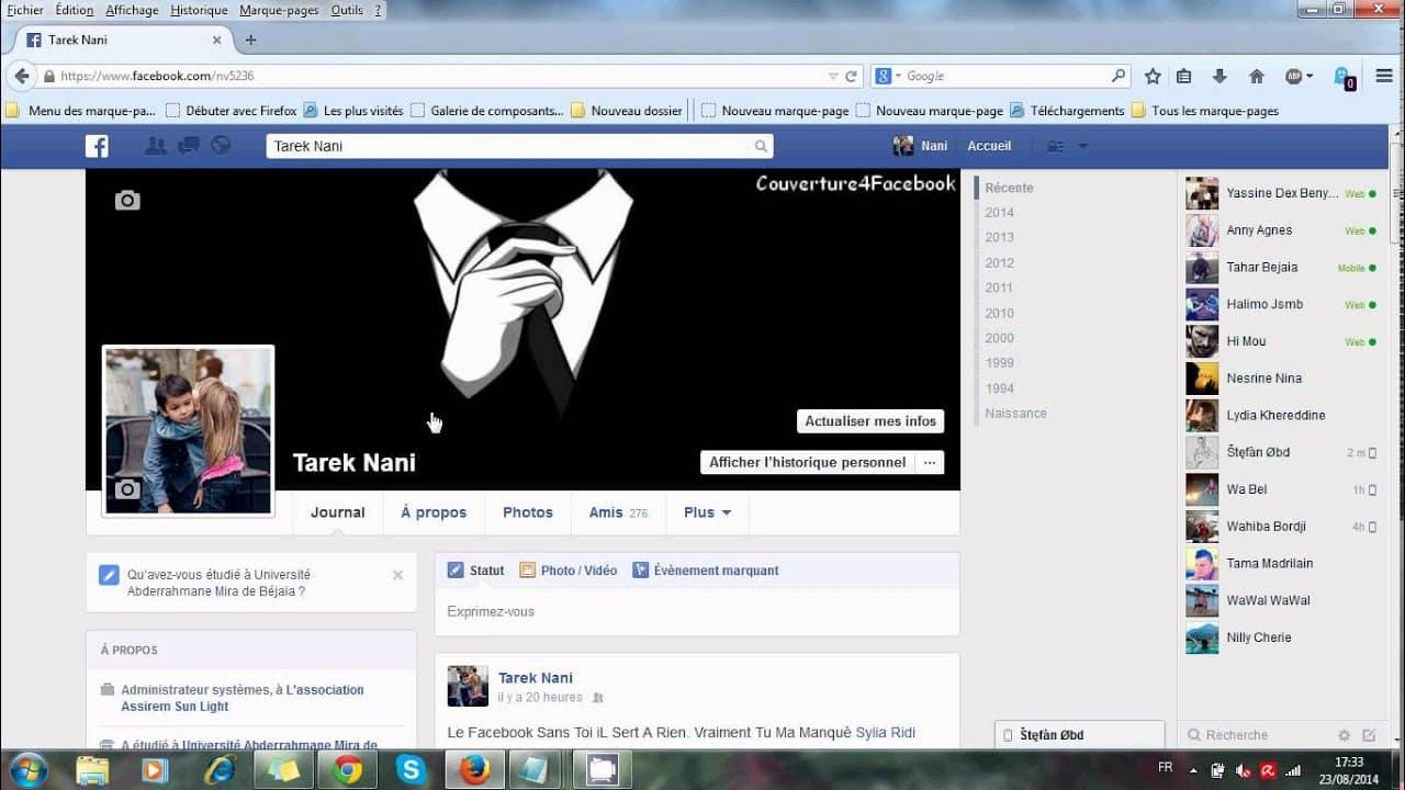 date facebook